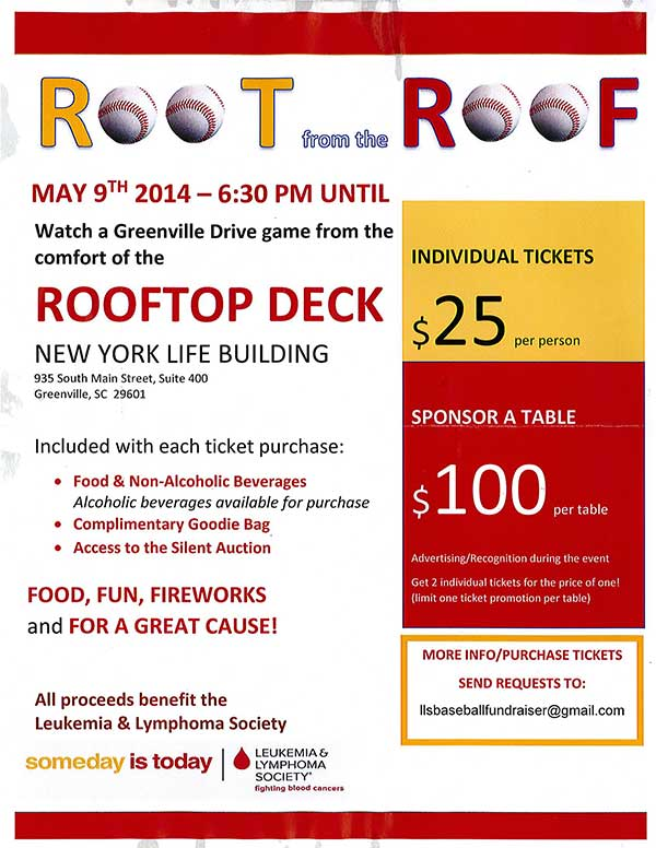 Palmetto Exterminators sponsors Root from the Roof game