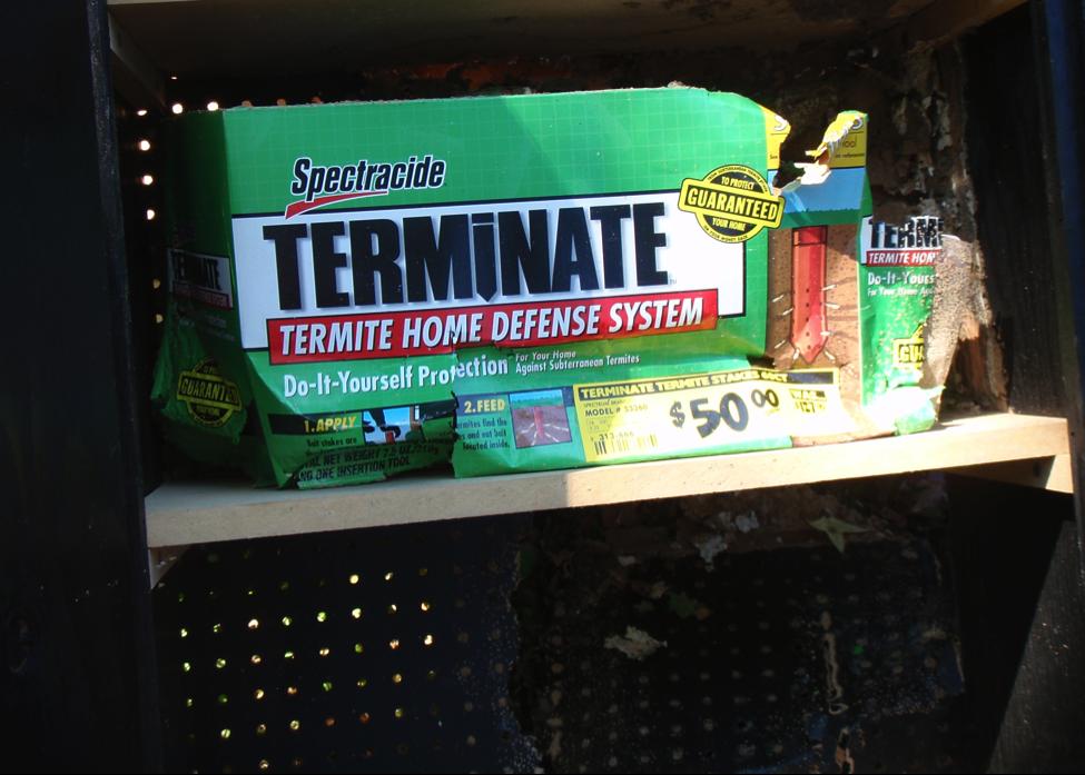 Diy termite control not a good idea palmetto exterminators pest diy termite control fail solutioingenieria Gallery