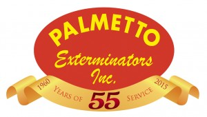 Palmetto Exterminators 55 Years of Service