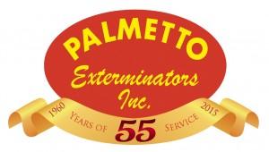 Palmetto Exterminators 55 Years of Service
